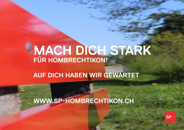 Download Flyer: Machen Sie mit, machen Sie sich stark für Hombrechtikon.